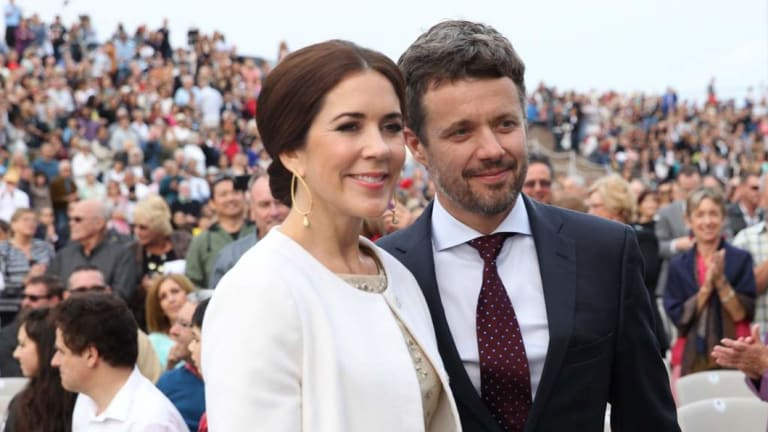 Crown Princess Mary and Crown Prince Frederik of Denmark are among the royals attending the Invictus Games in Sydney.