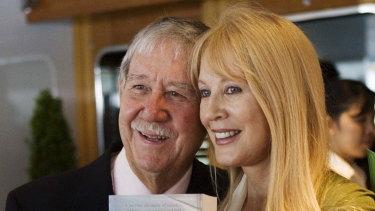 Reg Grundy and his wife Joy Chambers.
