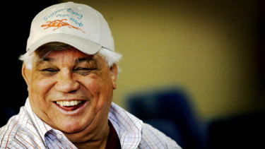 Rugby league legend Arthur Beetson, who passed away in 2011.