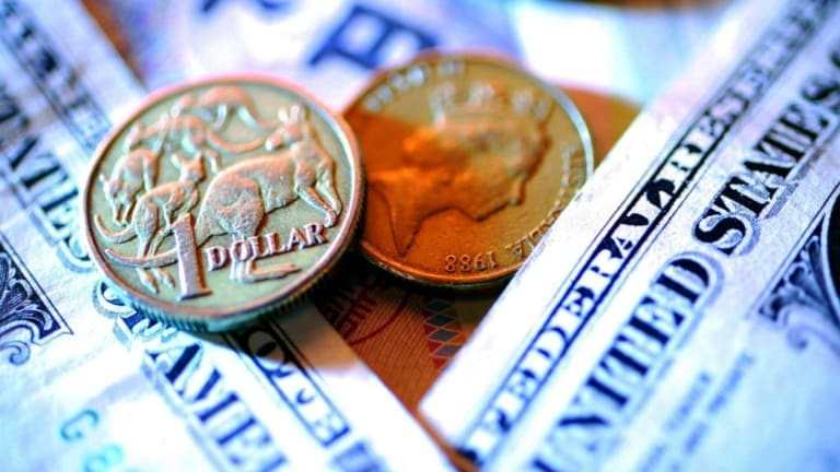 The Australian dollar is threatening to fall through the US70¢ level as the rate differential with the US continues to swell.