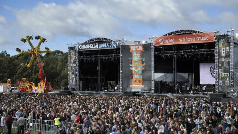 Pill testing at Groovin' the Moo was deemed a success.