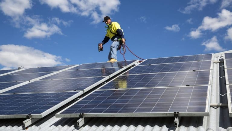 More Australians are installing rooftop solar, but not all can afford the steep upfront costs.