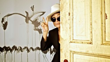Yoko Ono, pictured at the Museum of Contemporary Art in 2013, proved a controversial choice for the  gallery.