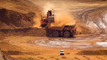 Rio's Pilbara mine suffered from staffing shortages and a cyclone in March.