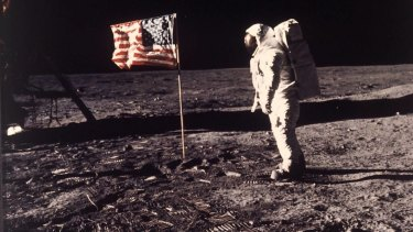 Technology has come a long way since the first moon landing.