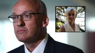 ABC journalist Ashleigh Raper (inset) has released an explosive statement containing allegations against NSW Opposition Leader Luke Foley.