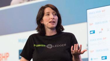 Power Ledger co-founder Jemma Green.