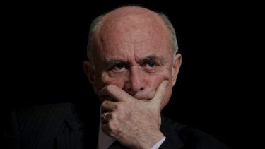 Professor Allan Fels has defended the 'two-strike' system.