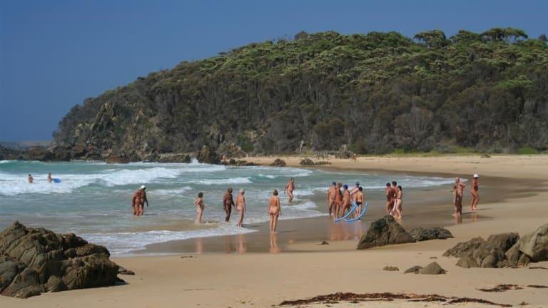 Armands Beach on a sunny summer's day.