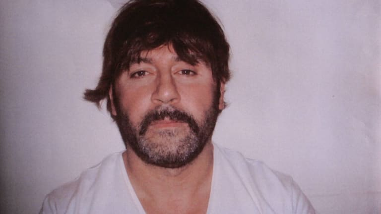 Tony Mokbel taken at the time of his arrest in Greece in June 2007.