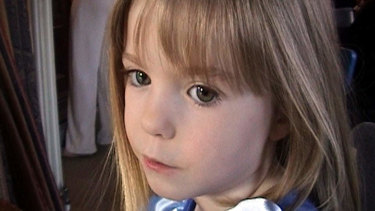 A photo of Madeleine McCann when she was three years old released by the McCann family in 2007.