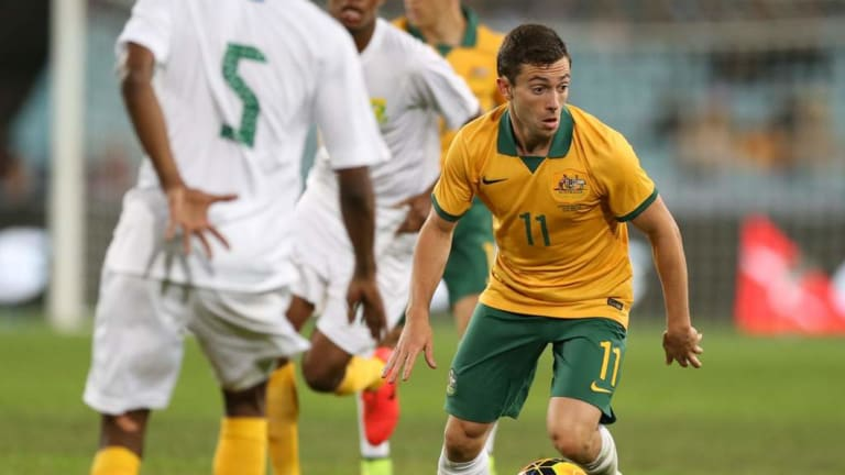 Socceroo Tommy Oar will also play for Central Coast.