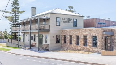The revamped Tathra Hotel.