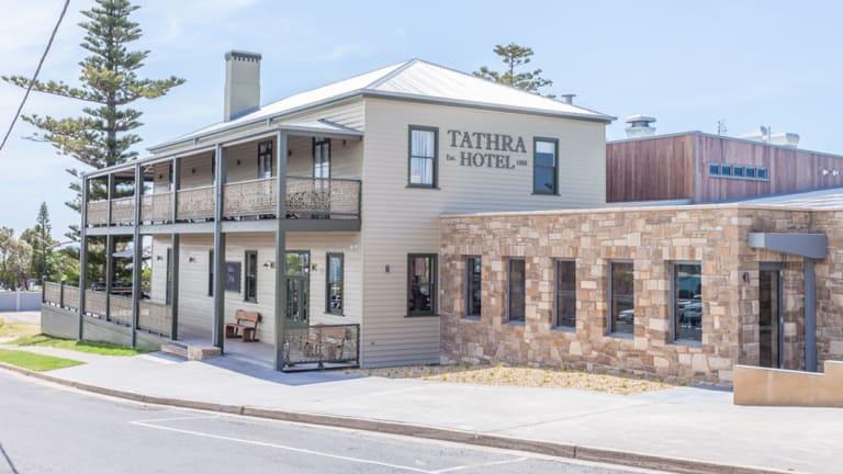 The revamped Tathra Hotel.