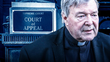 George Pell has appealed his conviction in the Court of Appeal.