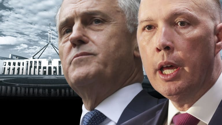 Former prime minister Malcolm Turnbull wants his leadership rival, Home Affairs Minister Peter Dutton, referred to the High Court.