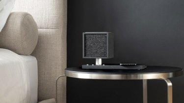 The Tivoli Revive combinesa bedside speaker with a night light and wireless charger.