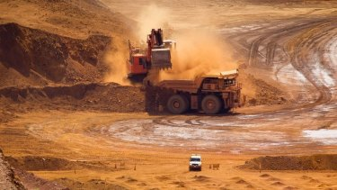 China is still hungry for iron ore.