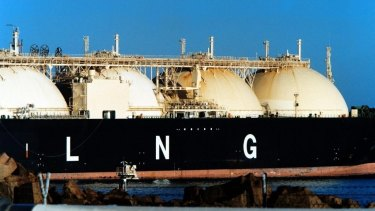 Growth in the LNG industry is the major factor in Australia's greenhouse gas emissions.
