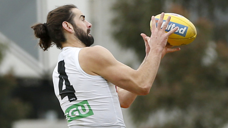 Magpies move closer to locking in Grundy - Brisbane Times