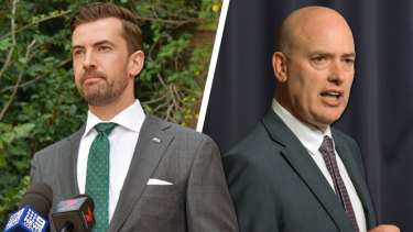 Zak Kirkup and Dean Nalder will fight it out at contest for the WA Liberals leadership on Tuesday morning.