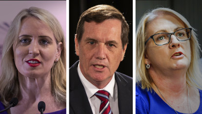 Kate Jones becomes third Queensland Labor minister to call time