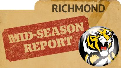 Richmond 2019 mid-season report card