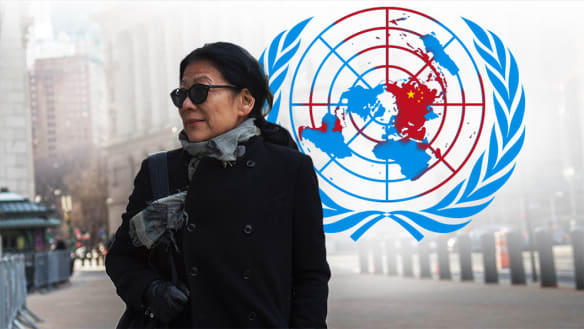 Beijing's secret plot to infiltrate UN used Australian insider