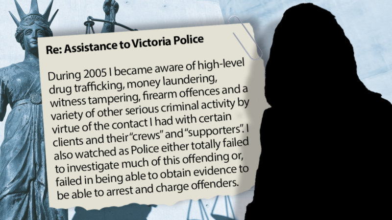 Nicola Gobbo: In her own words, why a top criminal barrister became