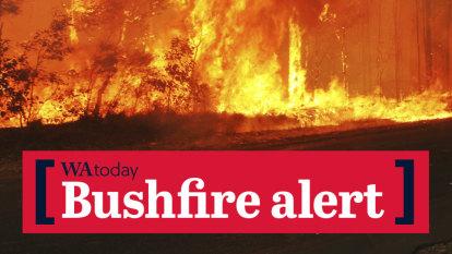 Bushfire warning issued for industrial area, Aboriginal community near Roebourne