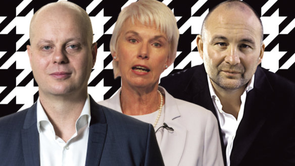 David Thomas, Gail Kelly, and Ian Moir.