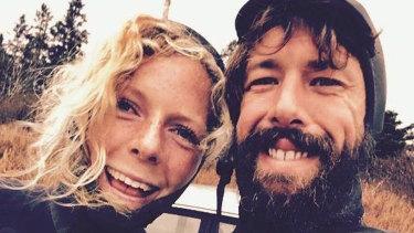 Sean McKinnon and his fiancee Bianca Buckley.