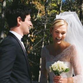 Karlie Kloss marries Jared Kushner's brother