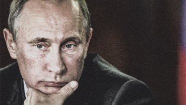 "Vladimir Putin: ""Blending media manipulation, social media disinformation and distortion."""