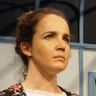 Susannah Frith and Rob de Fries in Rep's <i>A Doll's House</i>.