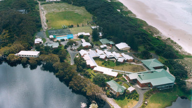 Lake Ainsworth in Lennox Head is the base the Warriors intend to call home from May 3 pending a federal government exemption.