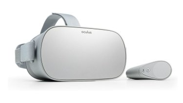 The Oculus Go is simple, but so easy to use.