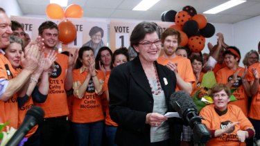 Ms McGowan won a narrow victory over Sophie Mirabella at the 2013 federal election, and went on to hold the seat in 2016.