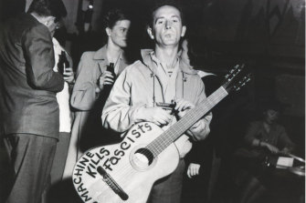 Woody Guthrie hated Donald Trump's father and sang about his racist rental policies.