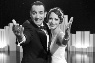 Jean Dujardin, left, and Berenice Bejo in The Artist.