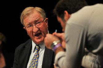 Former Liberal Party and Carlton Football Club heavyweight John Elliott.