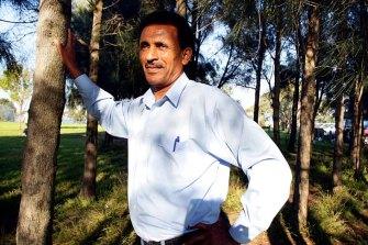 African-Australian community leader Berhan Ahmed