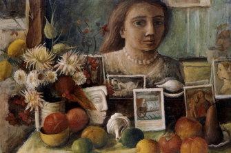 Margaret Olley's Portrait in the Mirror.