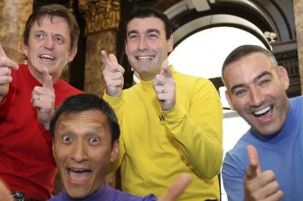Greg Page, the original Yellow Wiggle, was taken to hospital after a medical incident.