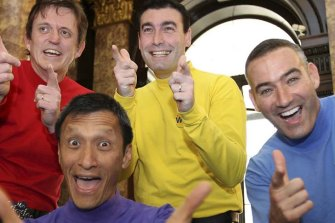 Yellow Wiggle Greg Page collapses during bushfire relief concert