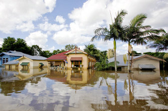 The January floods left many Brisbane residents owing mortgages on damaged or destroyed homes.