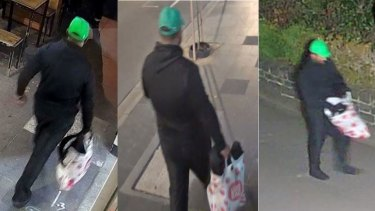 Police hope someone will recognise this man.