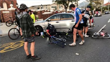 Big changes planned for Brisbane cycling black spot