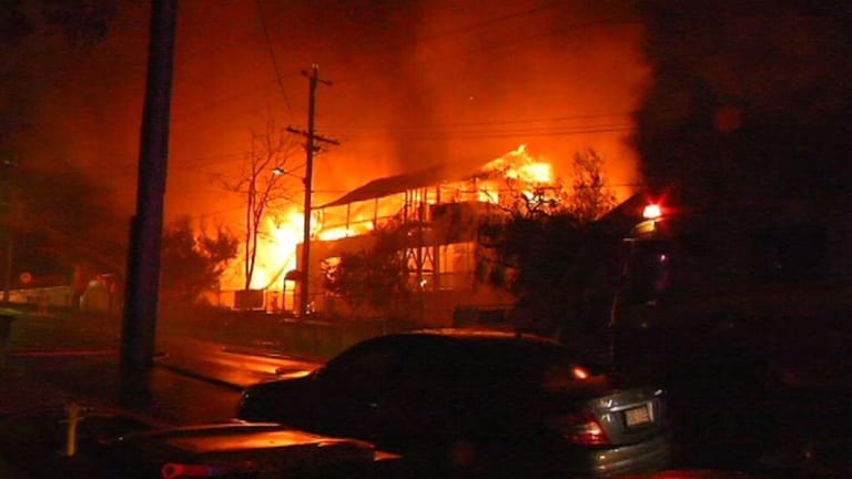 Several buildings at Morningside State School were burnt and one of the original buildings was lost.