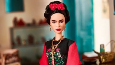 A Frida Kahlo Barbie from the range released to celebrate International Women's Day last year. Pretty, but not as powerful as continuing to take the fight to inequality in the real world.